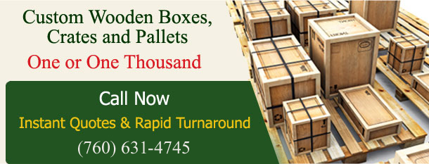 Custom Wooden Boxes, Crates & Pallets