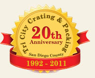 San Diego County's Best Crating for 20 Years